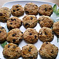 Cookies sans sucre (ou presque)