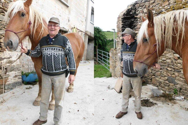 guy et son sweater