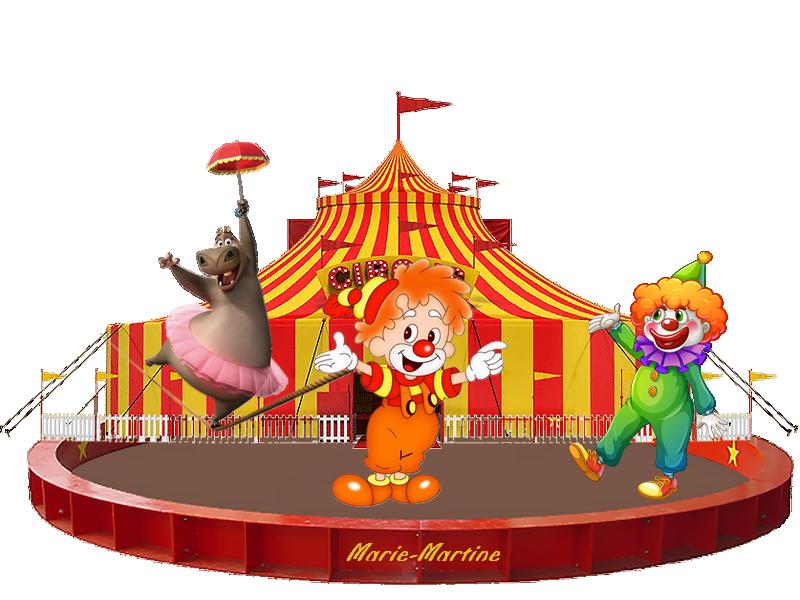 hypopotame au cirque