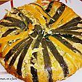 Gâteau de courgettes et de tomates