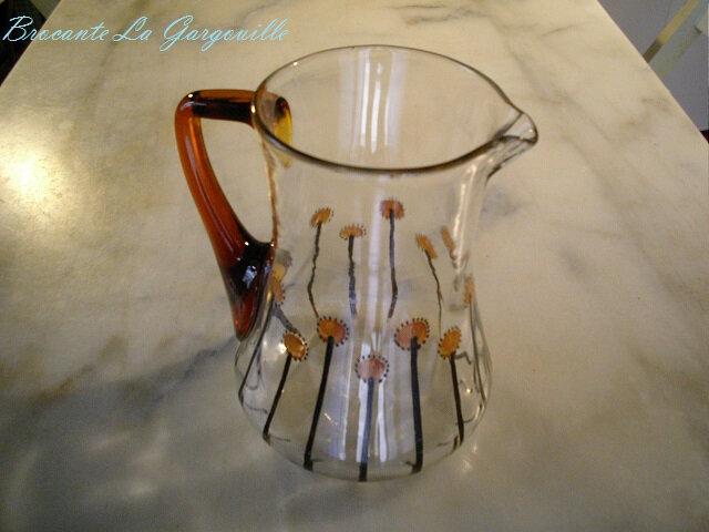 pot-a-eau-verre-soufflé-vintage