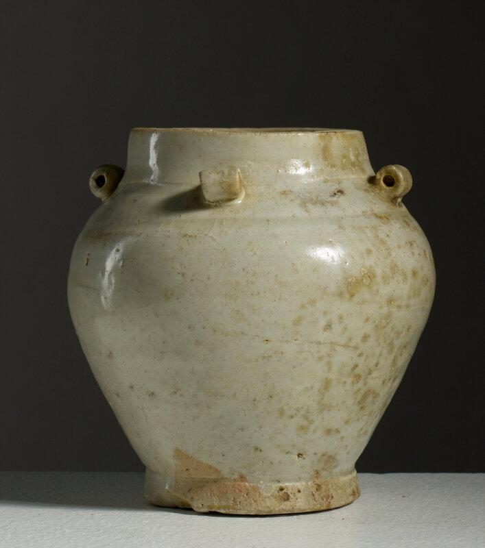 Pot à quatre anses tubulaires, Chine, dynastie Ming, 16°siècle