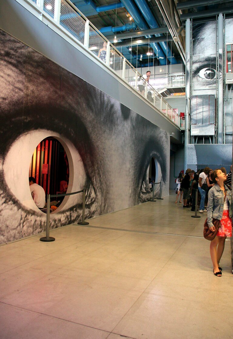JR - Inside Out Beaubourg_1493