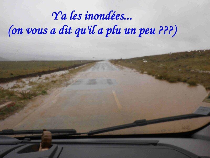 routes inondées