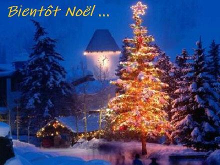 b n biento Noël sapin égliseBPat18