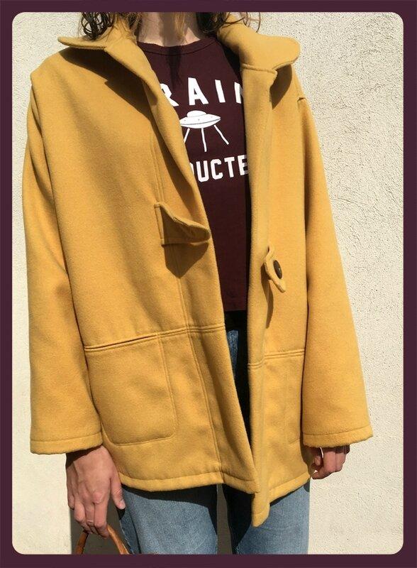 manteau jaune -2
