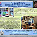 Conférence : fab lab et makers