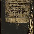 Le 31 janvier 1791 à mamers : enregistrement de lois.