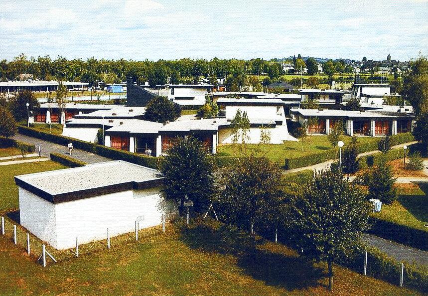 Pleaux( Cantal), le centre de vacances CCAS