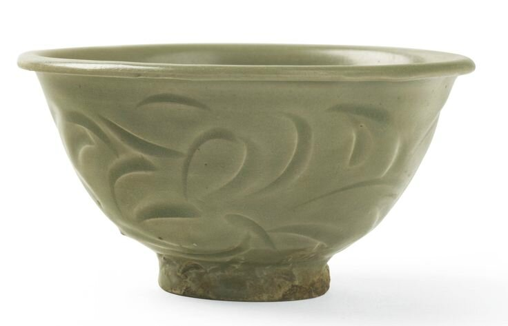 A 'Yaozhou' celadon bowl, Song dynasty