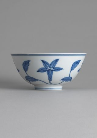 Blue & White Porcelain Bowl. Ming dynasty, Chenghua mark and of the period. 1465-1487. Dia: 14.6cm. photo courtesy Eskenazi Limited