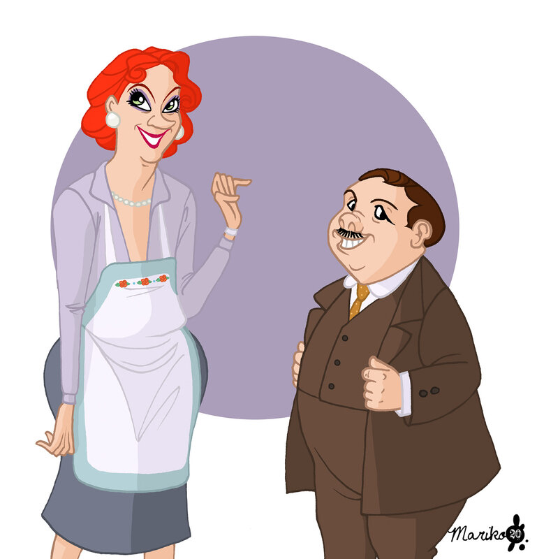 Medusa et Snoops Dursley