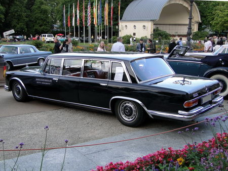 MERCEDES- BENZ 600 Pullman 1965 Internationales Oldtimer Meeting Baden-Baden 2009 2