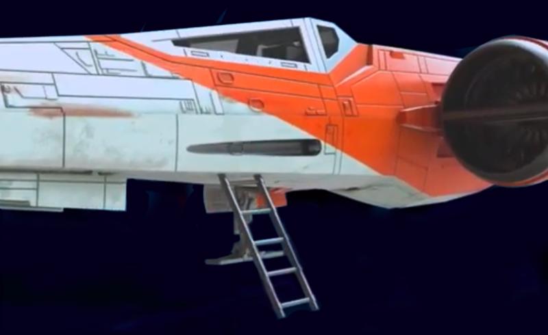 hasbro vintage poe x-wing5
