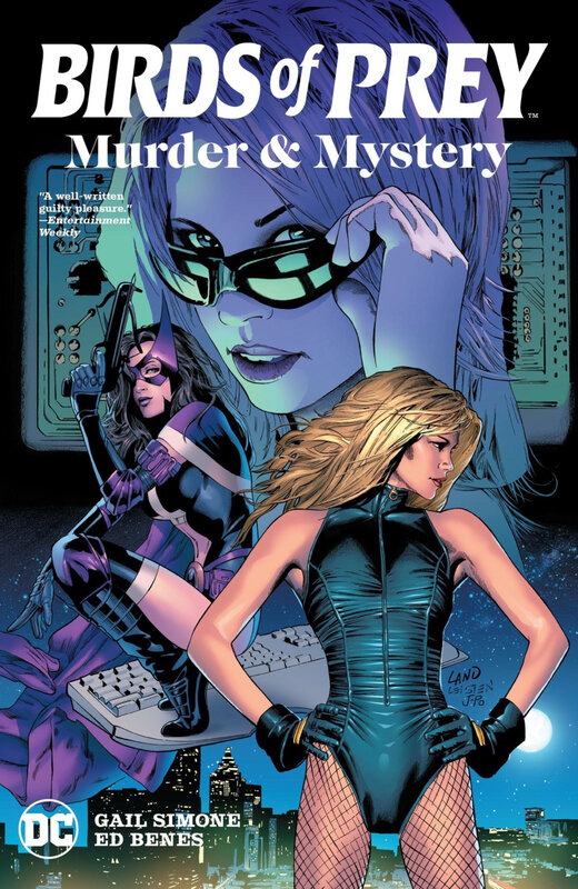 birds of prey murder and mystery TPB