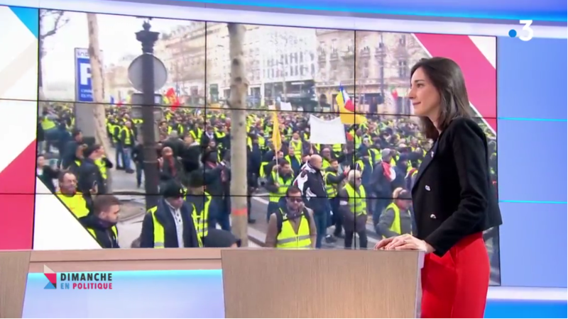 GILETS JAUNES BRUNE POIRSON MEDIA DIXIT WORLD