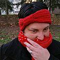 Un headband en laine, au crochet (tuto)