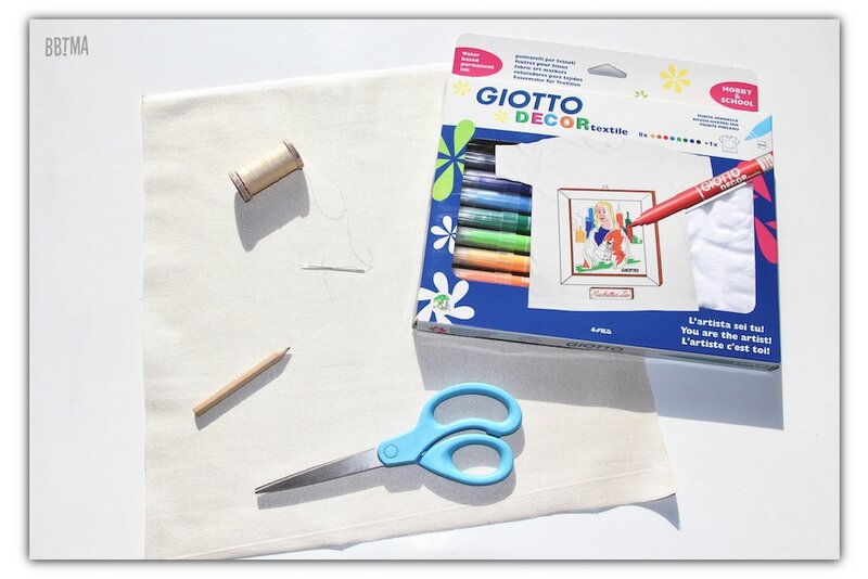 1 diy tuto coussin giotto feutre textile decor enfant dessin kids by bbtma le blog