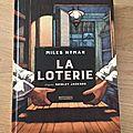 J'ai lu la loterie de miles hyman adapté de shirley jackson (casterman) (prix sncf du polar édition 2018 #polarsncf )