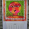 Calendrier 2012 inspiration paul klee
