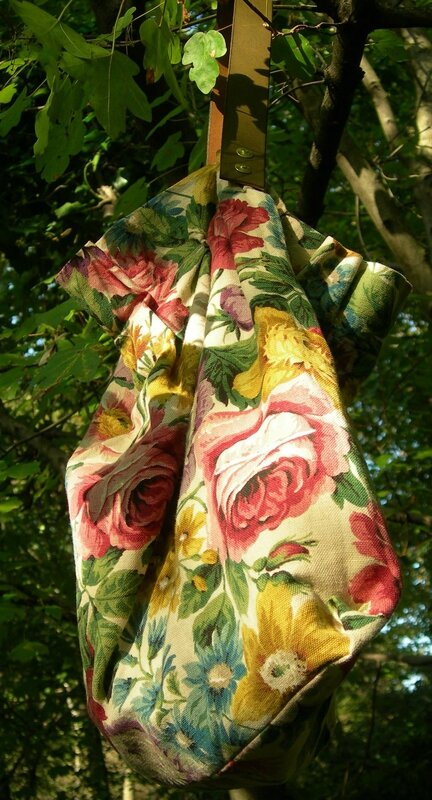 DIY Sac d'Automne Roses anciennes