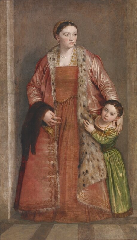 Baltimore, Walters Art_Paolo Veronese, Countess Livia da Porto Thiene