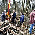 Le chantier bois du 12 mars 2016
