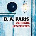 Derrière les portes, b. a. paris