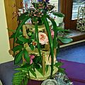 Arrangement floral pour communion