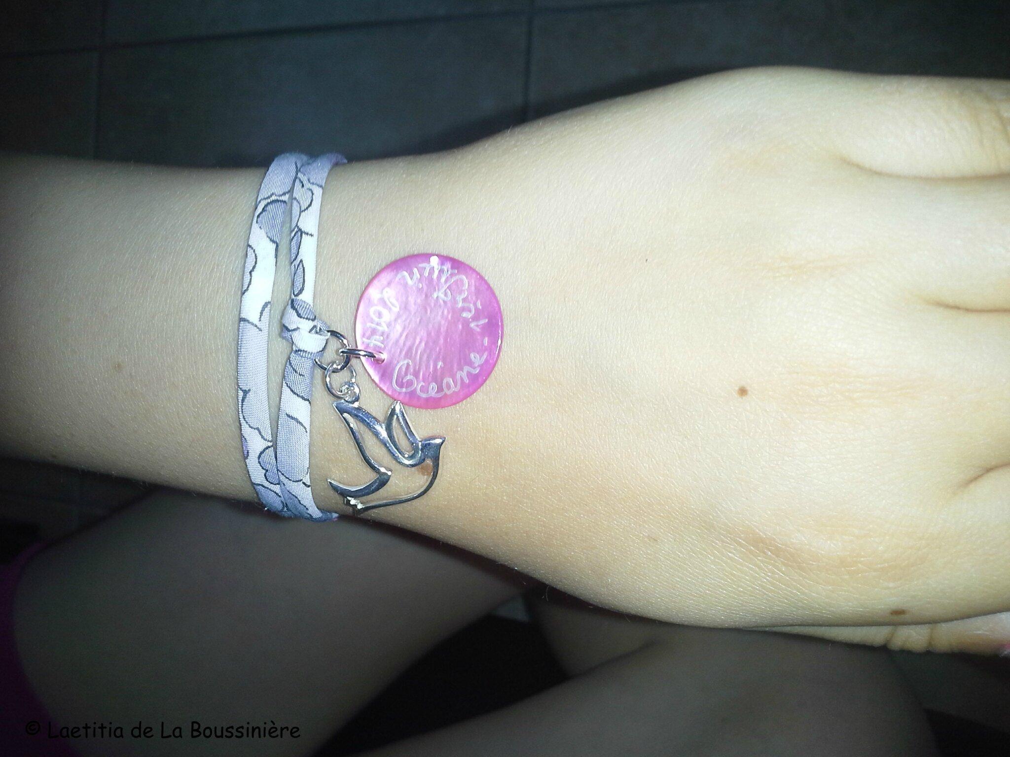 Le bracelet d'Océane