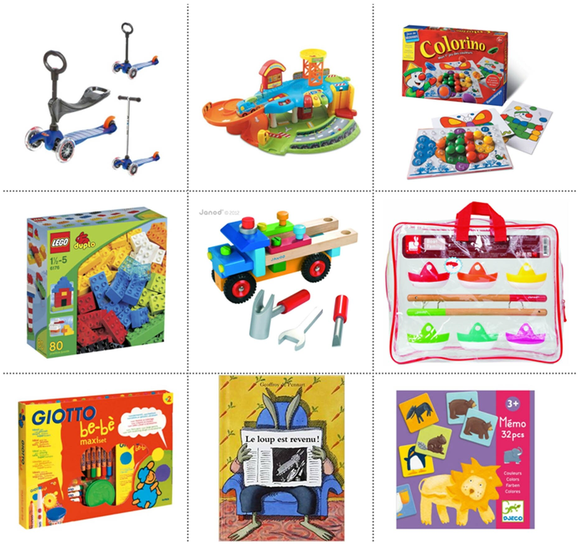 Ma sélection de cadeaux pour enfants de 2 ans - La page de vie de MlleOr 18c3e06a8c92