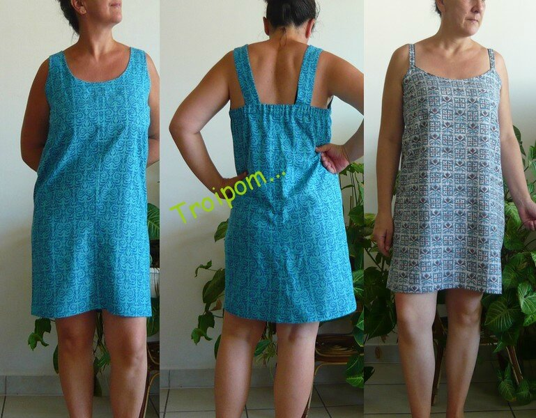 2 petite robe