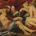 Christie's to offer rubens's 'lot and his daughters' as centerpiece of classic week