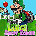 Jeu luigi shoot les zombies