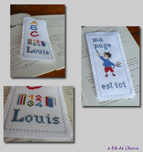 Marque page Louis