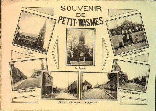 Petit-Wasmes - carte Souvenir