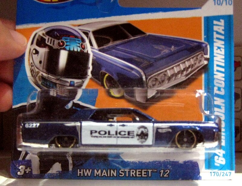 Lincoln continental de 1964 (Hotwheels)