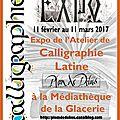 expo calligraphie