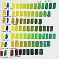 tuto 8 / technique huile 1 - apprendre ses gammes de couleurs