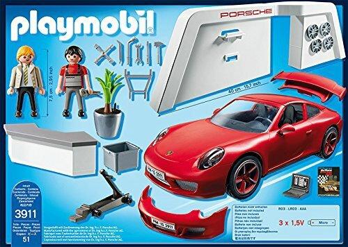 Boîte Playmobil Porsche 911 Carrera 2015 Descriptif