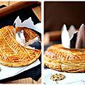 Galette des rois à la crème d'amande tonka
