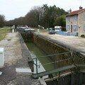 Attente d'écluse canal d'Heuilley