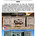Le monument aux morts de banyuls-sur-mer, sculpté par aristide maillol en 1933