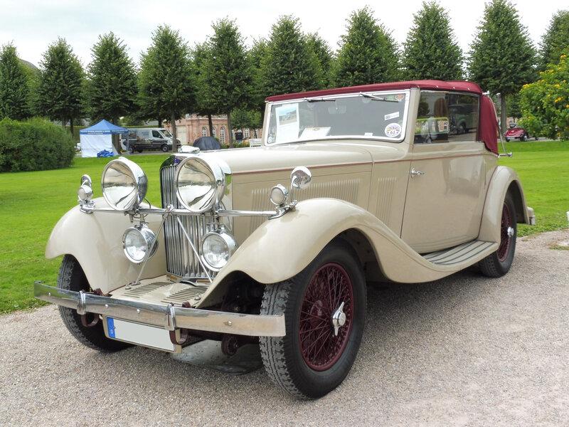 TALBOT AV105 drophead coupé James Young 1934 Schwetzingen (1)