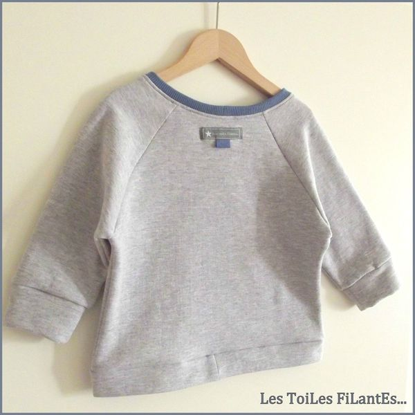 19-Ensemble jean sweat et tee-shirt bleu gris Aurèle13