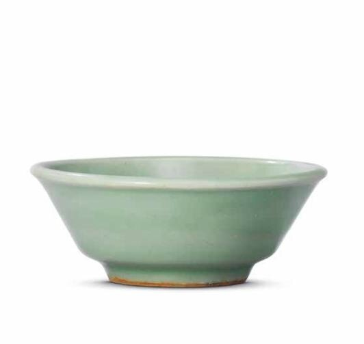A Longquan celadon washer, Southern Song dynasty (1127-1279)