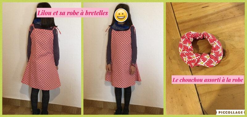 lilou robe a bretelles