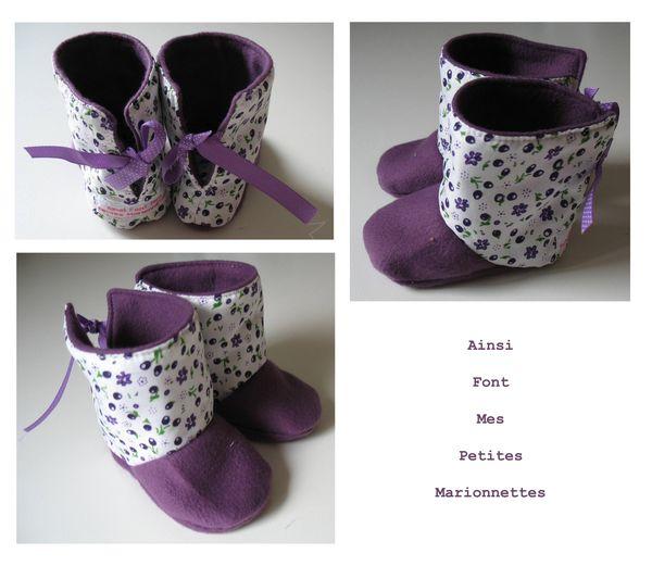 bottines violettes 2