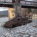 Commune: saint andré les alpes. cours d'eau: le verdon (hv-6)