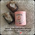 Créme démaquillante fleurs rares rose et jasmin apaisant de l'oréal skin expert : mon avis , ma revue 🌸